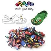 СП Джибитсы Jibbitz украшения для обуви Crocs, много расцветок для девочек и мальчиков + браслеты