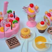 Новая закупка по тортикам на липучках 4 вида Музыкальные и простые