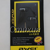 Наушники Awei Q 3.Заказ 16.08