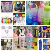 Бутылки, стаканы спортивные, с отсеком для фруктов, с опрыскивателем, фляга, My Bottle с мешком