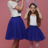 Отличные юбочки для мамы и дочки family look Любая длина и размер!!!