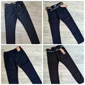 Школа.Котоновые брюки для мальчиков Taurus 122-164 на флисе и без