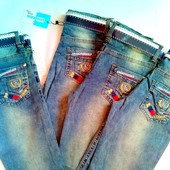 Распродажа!Стильные джинсы ,6-12 лет,отлично для школы, Турция,есть наличие
