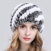 Качественные шапочки из натурального меха(рекс,норка,лиса)