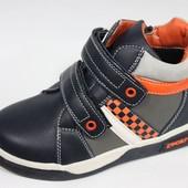Демисезонные ботинки для девочки и мальчика.  Размеры  26-32 . Фото 1-В наличии!