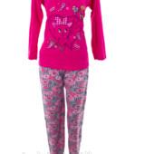 Скоро осень!Яркие уютные пижамки с начесом.Турция!100%хлопок .