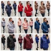 Новинки 2019!Есть батал. Осенние курточки по супер цене! Фото 1,3,5 - еврозима, силикон!  Турция!