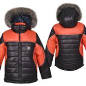 Акция! Зимние куртки р.98-140