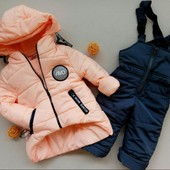 Новинка! Детский зимний комбинезон на овчинке, замеры на последних двух фото, 86-110, 116-140