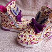 Потрясающие ботиночки с led подошвой, 26-31р Мои фото вживую. Потом не будет на складе!