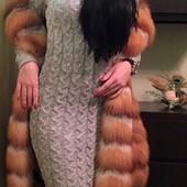 Кто любит вязанные платья? Рекомендую! Очень классное. 100 и 115 см. (400-430 грн)