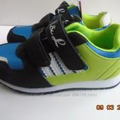 Легкие кроссовки на физкультуру, кож.стелька+супинатор 27-38р. В наличии 32, 34 и 35 рр.