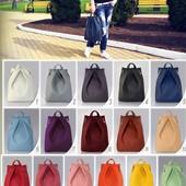 Рюкзаки и сумки.Отличный материал,  крепкая фурнитура, большой выбор цветов. Любая сумка 295грн