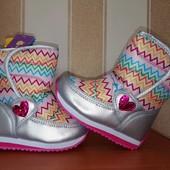 Новый сбор фото №1-11. Зимние дутики и термо ботинки для девочек.