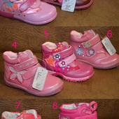 Сбор+наличие!!! 8 моделек. Кожанные деми ботиночки или ортопеды на флисе. Размер 22 - 31