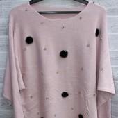 Жіночі  туніки кашемір світерки кофточки  рубашки   від 42 по 60р якість гарантую