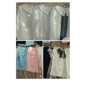 Блузки с длинным рукавом размеры 122-152 выкуп каждую неделю