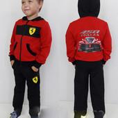 Спортивный костюм Ferrari для мальчика. Размер 104-152! Турция! Размер 104, 116 и выкуп!
