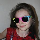 Детские качественные очки с поляризацией и UV 400. Авторские фото!