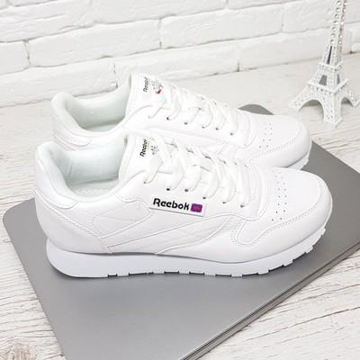 95cedce8 Кроссовки эко кожа белые копия Reebok совместная покупка и закупка ...