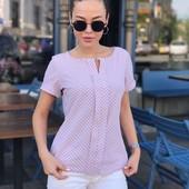 Жіночі блузи штапель рубашки Турція  футболочки від 46 по 60р якість гарантую
