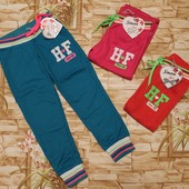 Спортивные штаны для девочек 98-128 р. Венгрия. У меня.