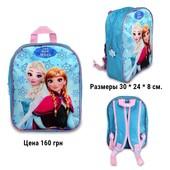 Детские рюкзачки, сумочки-почтальонки на каждый день, дорожные сумки и подушки. Disney.Оригинал!!!