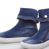 Стильная Джинсовая обувь !!!!