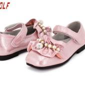 Нарядные туфельки Jong•Golf для принцесс на утренник. Розовые. Свободны р.28 и 29. Выкупаем в среду!