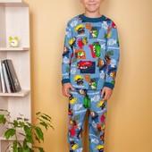 Пижамки с начесом и без для всех.На рост от 74 см до 164 .