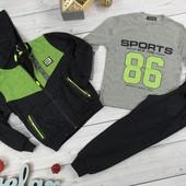СП Спортивные костюмы тройка р.98-164, без посредников,со склада