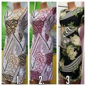 Яркие ,летние,платья.48-68, ткань микромасло.
