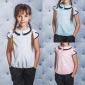 Блузы и юбки, сарафаны к школе, производство Украина, без ростовок Ч1