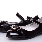 Выкуп от 1 единицы! Стильные и удобные туфельки в школу и садик , кожаная стелька с супинатором.