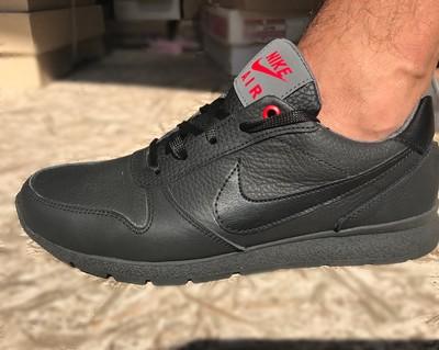 Мужские кожаные кроссовки Nike совместная покупка и закупка со ... 33b5b8bf10a
