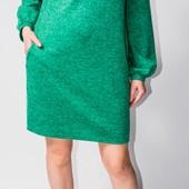 Платье ангора и костюмка р 42-60 Длина на заказ фото реальные