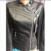 Женская куртка  косуха и  куртка серебро, 42-52