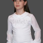Блузочки в школу от производителя. Наличие. Ждать не нужно