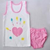 Комплекты белья деткам, пижамки, готовимся в садик, без сбора ростовок, заказ на 17.08