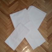 Білий 1,5-ний постільний комплект