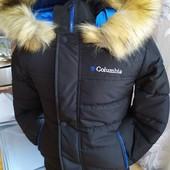 В наличии на 122-152р Очень крутые зимние куртки 6-13 лет