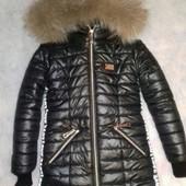 Куртки , пальто зимние на овчине и на флисе.