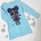 Сп Детские теплые платья для девочек р 98-152,  заказаны