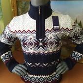 В наличии ф 1,2,3,4,5,6,7 Шикарные мужские свитера ,натуральная шерсть50,52,54,56,58