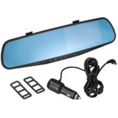 Авторегистратор - зеркалоDVR 138E ,видеорегистратор в зеркале заднего вида.Указатели  led