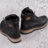 Распродажа!!Мужские зимние ботинки из натуральной кожи