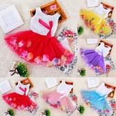 Яркие нарядные платьица для Ваших принцесс. Реальные фото!!!