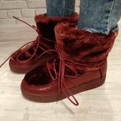 Крутые ботиночки / угги зима всего 230 грн