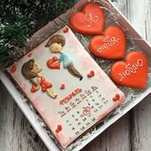 Имбирные прянички на День Святого Валентина, в наборах и поштучно!