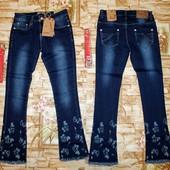 Очень крутые джинсы Grace  на девочку 134-164 р